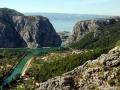 Estuary of the river Cetina